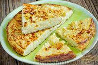 Омлет с сыром и вермишелью