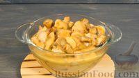 Куриное филе с грибами в сливочно-апельсиновом соусе