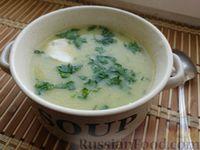 Суп-пюре из кабачков или тыквы и цветной капусты