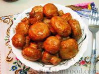 Шампиньоны в томатном соусе, запечённые в духовке