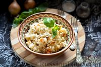 Рис с фаршем в сметане