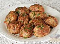 Гречаники, запечённые в томатном соусе (в духовке)