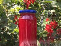 Сироп из красной смородины (заготовка на зиму)