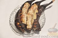 Куриное филе в банановой кожуре на мангале