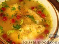 Овощной суп с тунцом
