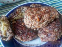 Котлеты из фарша с картофельной начинкой, или Зразы наоборот
