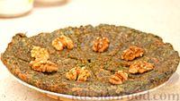 Кюкю с зеленью и грецкими орехами