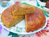 Капустный пирог на сковороде