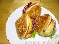 Булочки-бутерброды