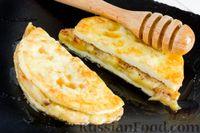 """Яичный """"сэндвич"""" с жареными бананами и корицей"""