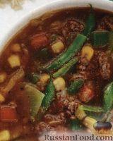 Суп из овощей и мяса