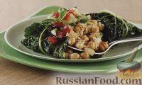 Вегетарианские голубцы с рисом и нутом