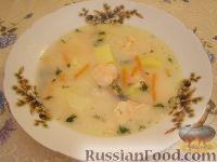 """Рыбный суп """"Финские мотивы"""""""