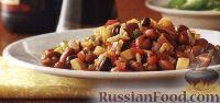 Фасолевое рагу с рисом и овощами (в медленноварке)