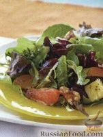 Цитрусовый салат с ананасом