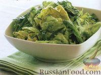 Легкий салат с эстрагоном