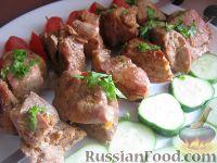Горчично-овощной маринад для шашлыка