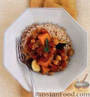 Овощное рагу с нутом и бататом