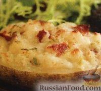 Дважды печенный картофель
