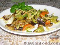 Гриль-салат с сыром