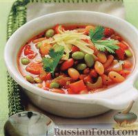 Фасолевый суп с перчинкой