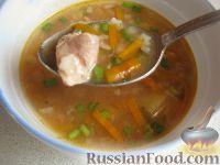 Экономный рыбный суп