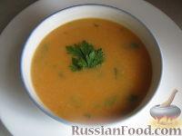 Постный суп-пюре овощной