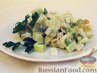 Картофельный салат с сушеным тунцом