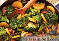 Овощное «стир-фрай» с грибами
