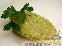 Салат-паштет из авокадо с яйцом