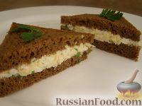 Тосты с яичным салатом