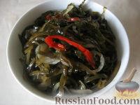 Морская капуста с овощами по-корейски