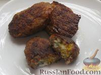 Мясные зразы с рубленым яйцом