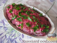 """Салат из свеклы """"Аппетитный"""""""