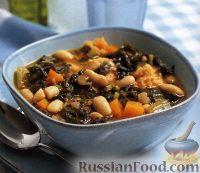 Тосканский фасолевый суп риболлита