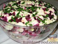 Свекольно-селедочный салат