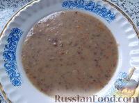 Суп-пюре из фасоли и картофеля