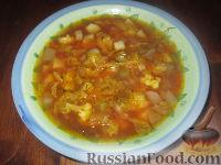 Суп с репой и бататом