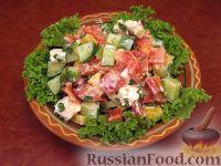 Овощной греческий салат
