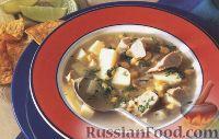 Латинский куриный суп