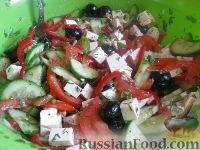 """Салат с брынзой """"Хориатики"""""""