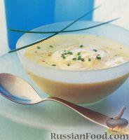 Холодный картофельный суп-пюре