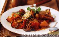 Овощное рагу, запеченное в духовке