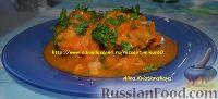 Тушеная рыбка с морковью и луком