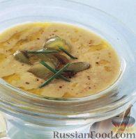 Холодный ореховый суп-пюре