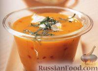 Манговый суп-пюре с пряностями