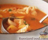 Рыбный суп с апельсиновым соком