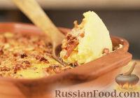 Картофельное пюре с беконом и сыром чеддер