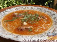 Острый суп-харчо
