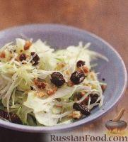Капустный салат с фенхелем
